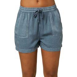 O'Neill Juniors Mid Rise Fern Shorts