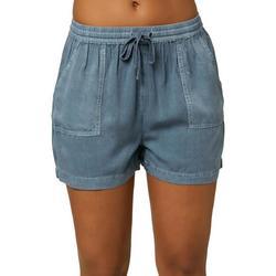 Juniors Mid Rise Fern Shorts