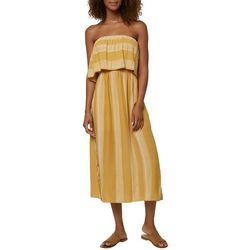 O'Neill Juniors Koia Stripe Midi Dress