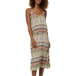 Juniors Camryn Floral Midi Dress
