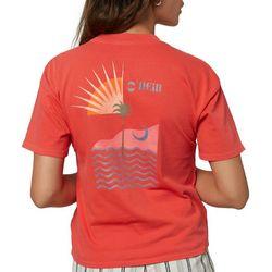O'Neill Juniors O'Neill Back Screen Print T-shirt