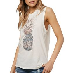 O'Neill Juniors Marketplace Pineapple Tank Top