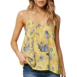 O'Neill Juniors Agate Floral Print Tank Top