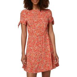 Juniors Floral Luciana Dress