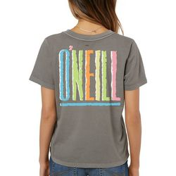 O'Neill Juniors Totally Pigment Dyed T-Shirt