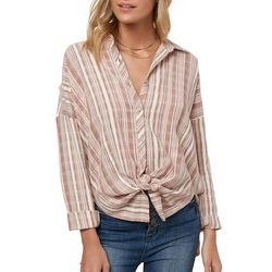 O'Neill Juniors Arlow Striped Top