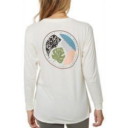 O'Neill Juniors Drift Graphic Long Sleeve T-Shirt