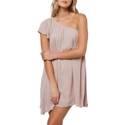 c7444cfb4fc7 O Neill Juniors Karma Metallic One Shoulder Dress