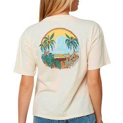 O'Neill Juniors Happy Hour Graphic T-Shirt