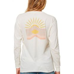 O'Neill Juniors Sunny Long Sleeve Graphic T-Shirt