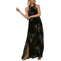 O'Neill Juniors Luka Abstract Floral Maxi Dress
