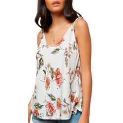 O'Neill Juniors Topher Floral Print Tank Top