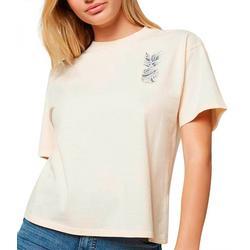 Juniors Coastline Pineapple Graphic T-Shirt