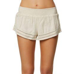O'Neill Juniors Picos Textured Shorts