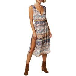 O'Neill Juniors Keena Faux-Wrap Dress