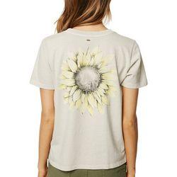 O'Neill Juniors Aurora Sunflower T-Shirt