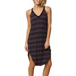 O'Neill Juniors Lunara Striped Dress