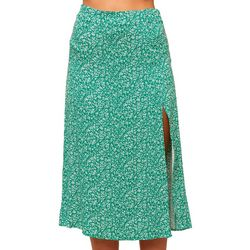 O'Neil Juniors Floral Print Midi Skirt