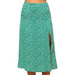 O'Neil Juniors Floral Print Midi Skirt