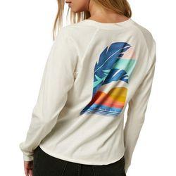 O'Neil Juniors Long Sleeve Graphic T-Shirt