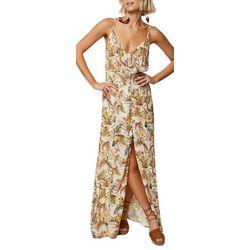 O'Neill Juniors Britton Tropical Maxi Dress