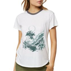 O'Neill Juniors Stormy Tropical T-Shirt