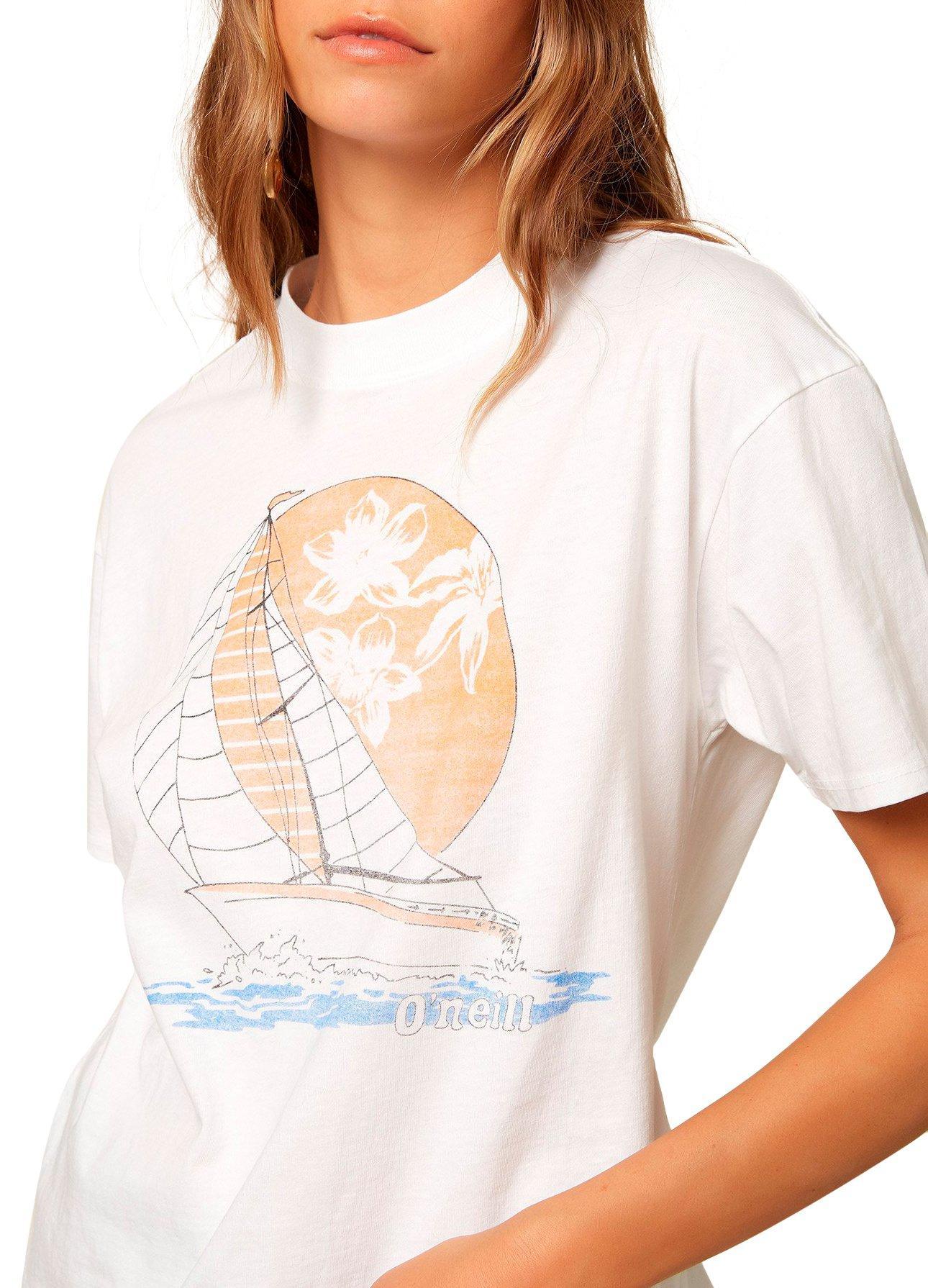 O/'neill Orange /'Horizon/' Cotton T-Shirt
