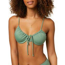 O'Neill Juniors Solid Underwire Bikini Top