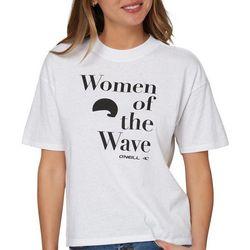 O'Neill Juniors Women Of The Wave Short Sleeve Top