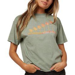 O'Neill Juniors Palm Trees T-Shirt