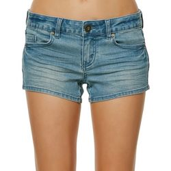 O'Neill Juniors Kole Faded Denim Shorts