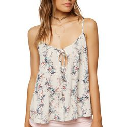 O'Neill Juniors Booker Floral Tank Top