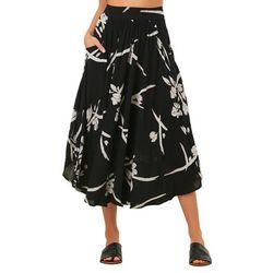 O'Neill Juniors Merin Floral Midi Skirt
