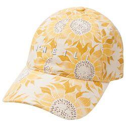 O'Neill Juniors Movement Sunflower Print Baseball Hat