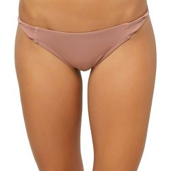 O'Neill Juniors Salt Water Solids Twist Tab Swim Bottoms