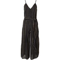 Billabong Juniors Striped Shake It Again Jumpsuit