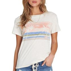Billabong Juniors Watercolor Ocean T-Shirt