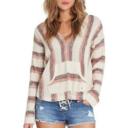 Billabong Juniors Baja Beach Pullover Striped Sweater