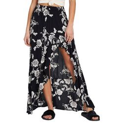 Billabong Juniors Kick Twist Floral Maxi Skirt