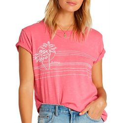 Billabong Juniors Best Of Times Palm Tree Sunset T-Shirt