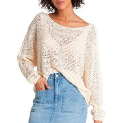 Billabong Juniors Chill Out Open Knit Sweater