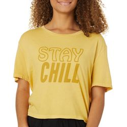 Billabong Juniors Stay Chill Crop T-Shirt
