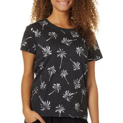 Billabong Juniors Palm Tree Print T-Shirt