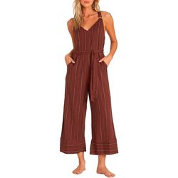 Billabong Juniors Bella Day Striped Jumpsuit