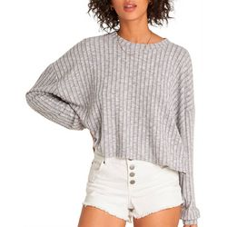 Billabong Juniors Cozy Up Long Sleeve Top