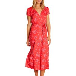 Juniors Right Timing Floral Print Dress