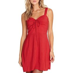 Billabong Juniors Cherry Kisses Mini Dress