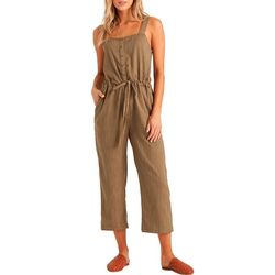 Billabong Juniors Sandy Shores Sleeveless Jumpsuit