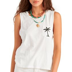 Billabong Juniors Beach Shade Tan Muscle Tee