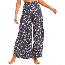 Juniors Wander Soul Floral Soft Pants